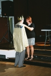 Crowning our Reunion King - Marlene Atha and Joe Welch