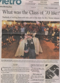 Dallas Morning News Article About the Class of 1970!